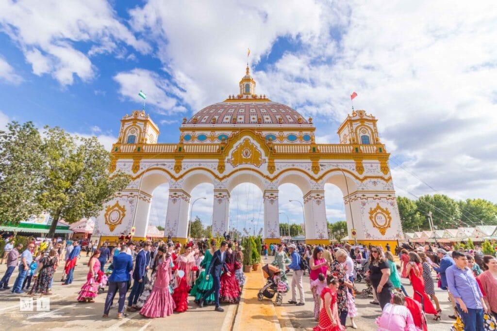 La Feria de Abril in Sevilla, Spain