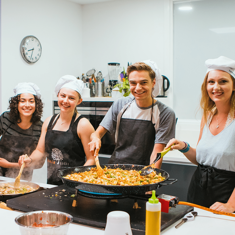 Spanish cooking classes - semester programs for college students in Spain