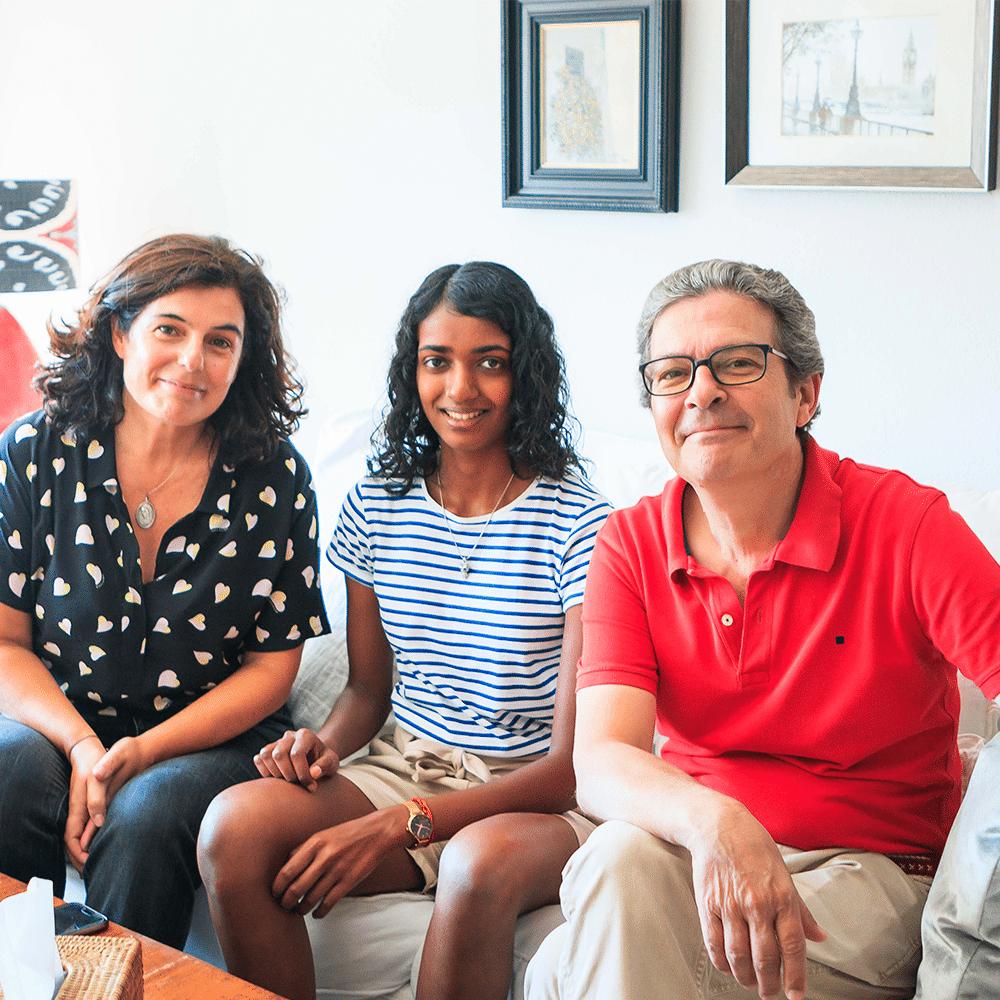 pre AP Spanish lit program with family homestays in Spain