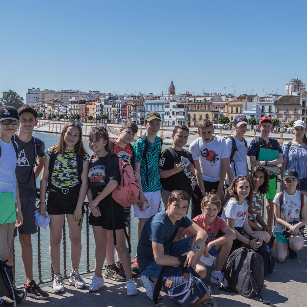 Custom school trips in Sevilla, Spain