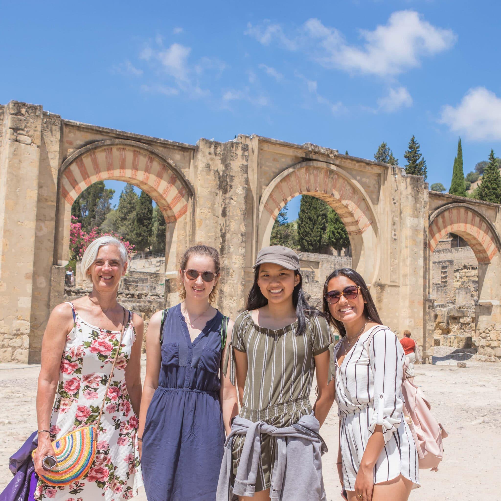 Excursion to Cordoba - pre AP Spanish language program in Spain