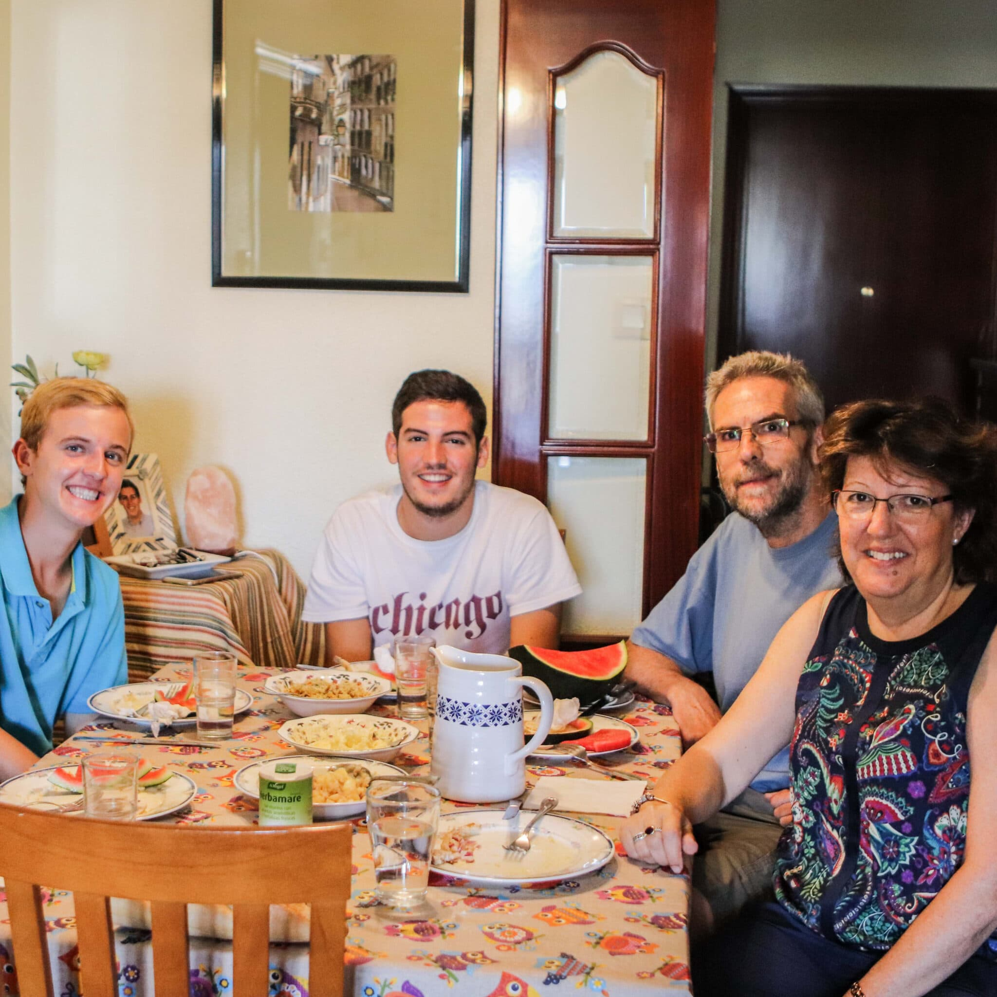 Spanish language immersion trip with family homestay