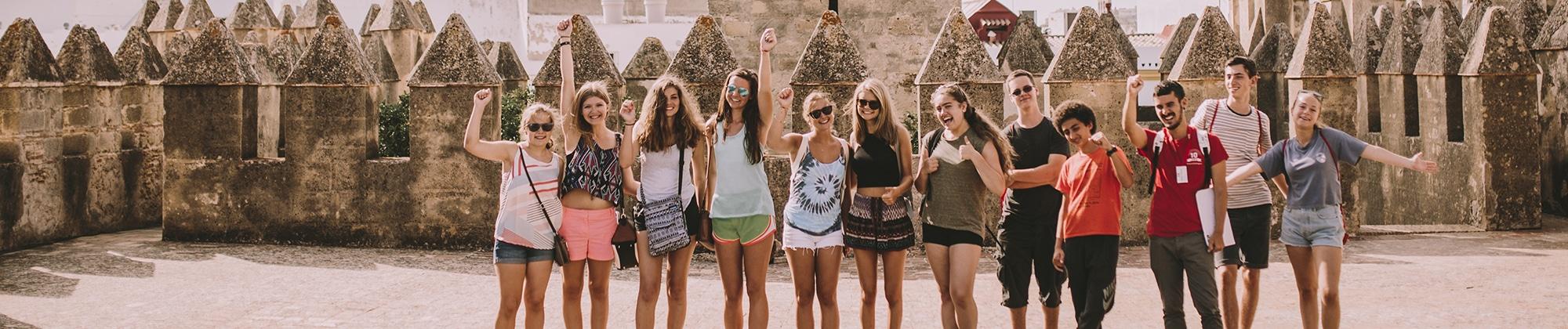 Spanish language school trip in Cadiz, Spain
