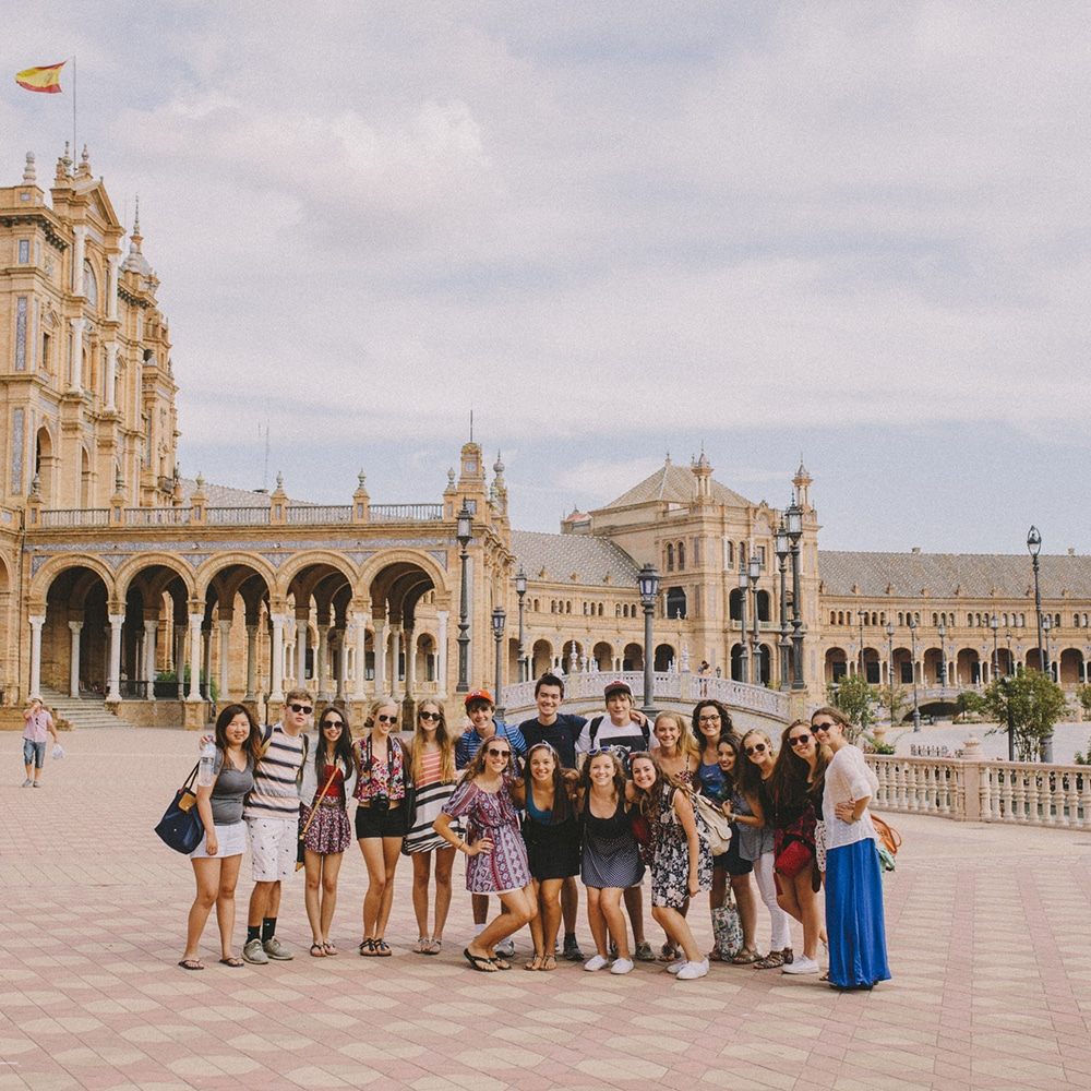 Spanish language school trip in Spain