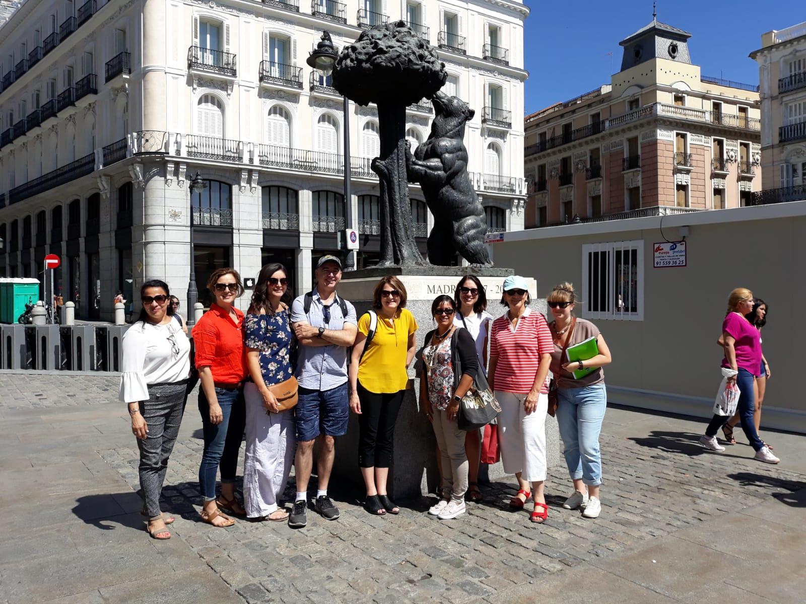 AP Spanish literature workshop in Madrid