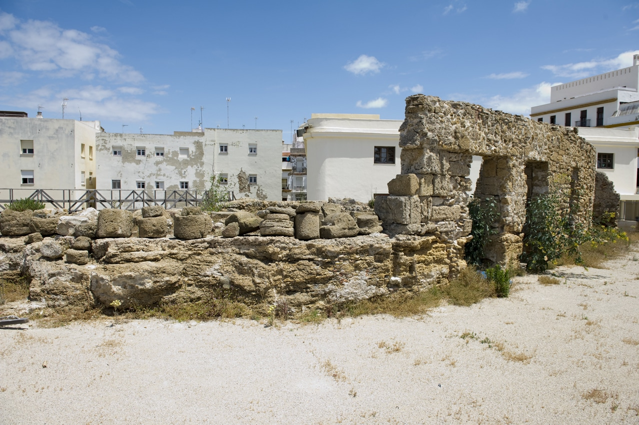 Ruins by the Roman theatre