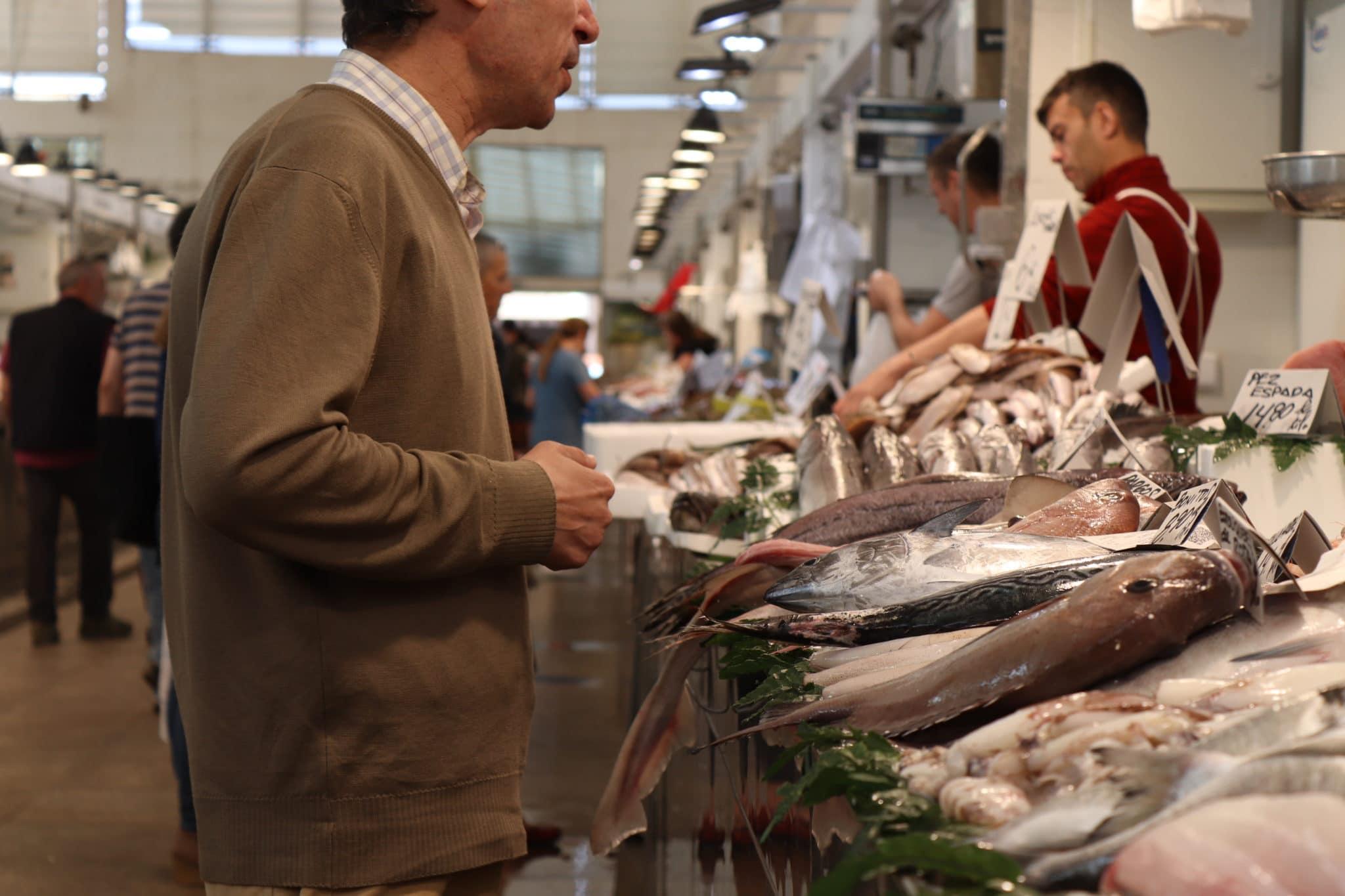 Central Market in Cadiz