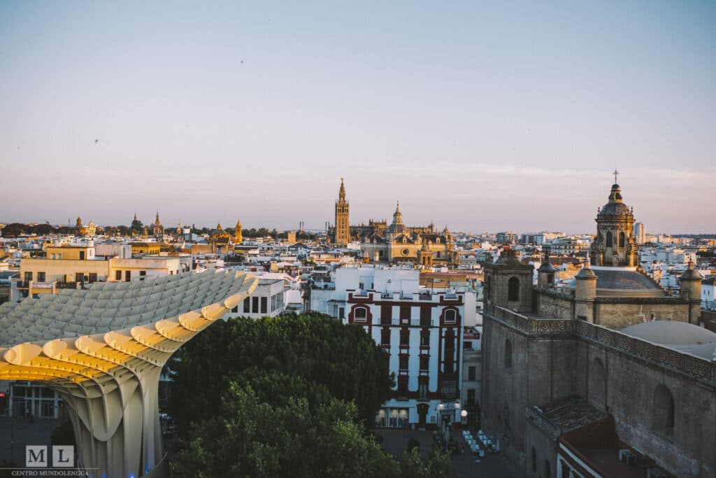 The Setas - one of the best rooftop terraces in Sevilla, Spain
