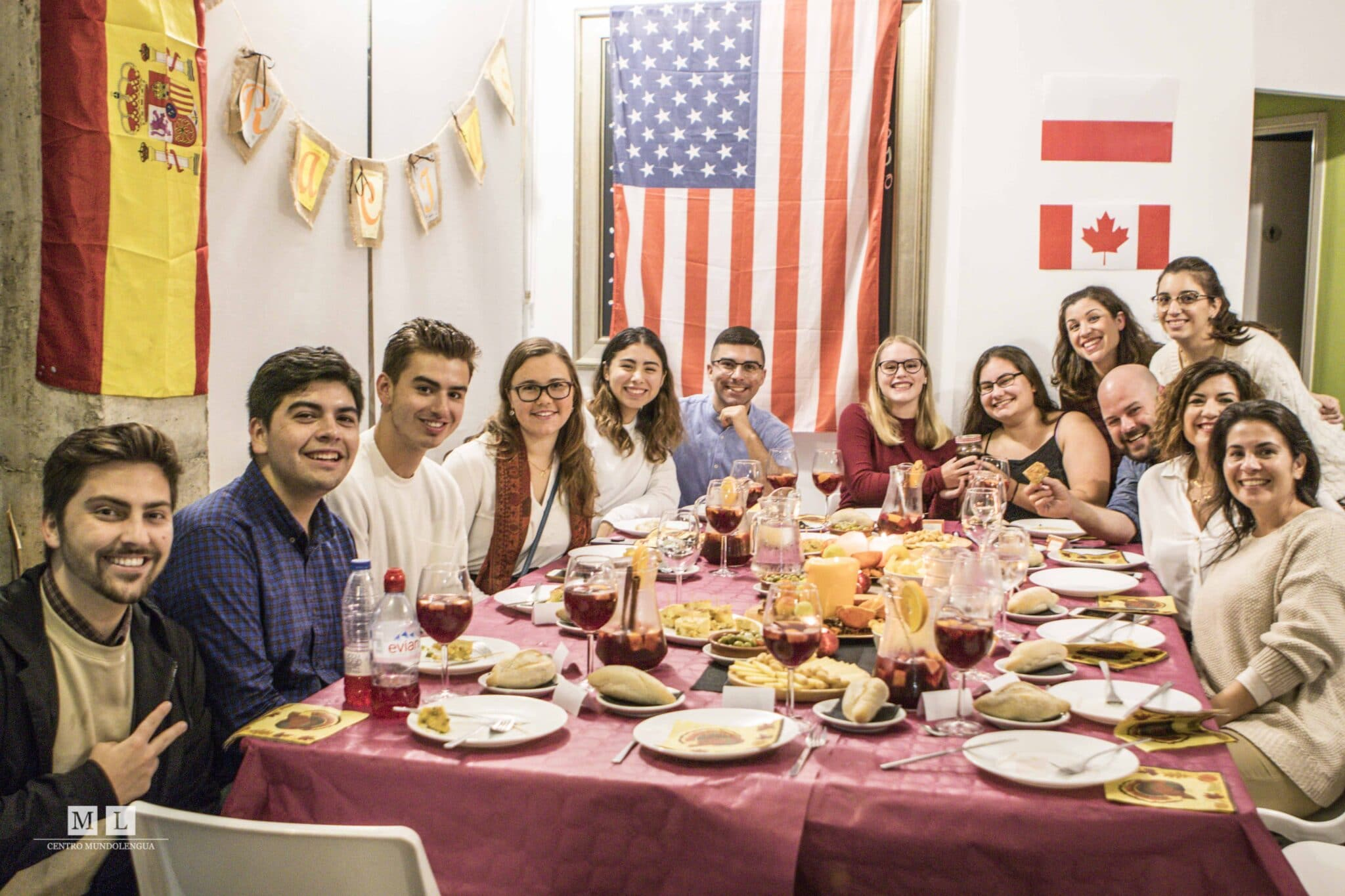 Thanksgiving abroad in Spain