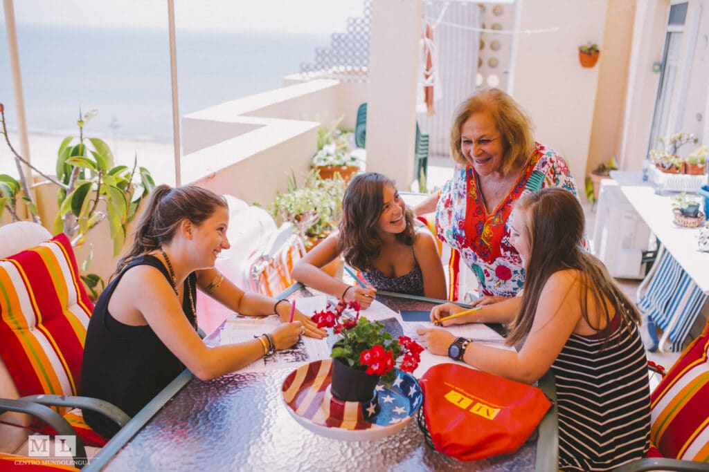 Study abroad in high school with family homestay